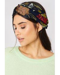 Mango - Flower Hairband - Lyst