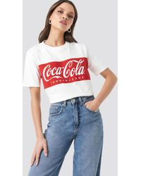 ecb5ceed Tommy Hilfiger X Coca-cola Uo Exclusive Logo Tee in Red - Lyst