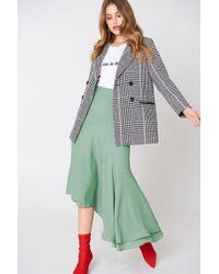 NA-KD | Asymmetric Block Skirt | Lyst