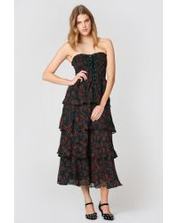 Endless Rose - Night Blossom Maxi Dress Night Blossom Print - Lyst