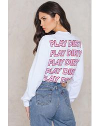 NA-KD - Play Dirty Sweater - Lyst