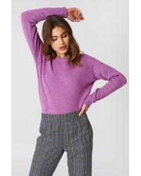 Minimum - Kita Sweater Spring Crocus - Lyst