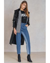 NA-KD - High Waist Two Toned Jeans - Lyst