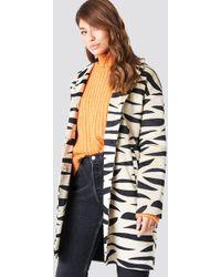 NA-KD - Printed Zebra Jacket - Lyst