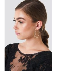 NA-KD - Big Snake Earrings - Lyst