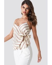 Mango - Bereber Striped Top - Lyst