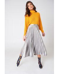 Bardot | Metallic Pleated Skirt | Lyst