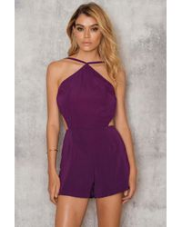 Motel Rocks - Moica Playsuit - Lyst