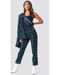 NA-KD - Straight Checkered Suit Pants - Lyst