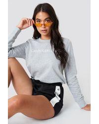 Calvin Klein - Institutional Logo Sweatshirt - Lyst