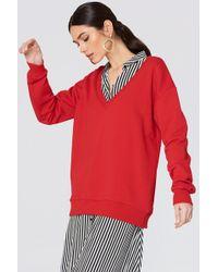 NA-KD - V-neck Basic Sweater - Lyst