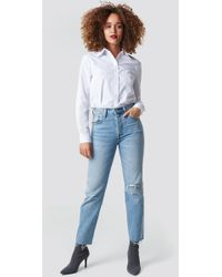 Levi's - 501 Crop Jeans Diamond In The Rough - Lyst
