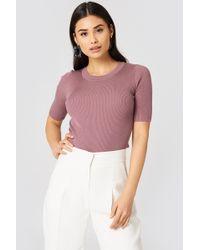 Storm&Marie - Nap Ss Sweater Foxglove - Lyst