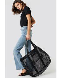 Calvin Klein - Mesh Beach Bag - Intense Power - Lyst