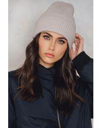 Filippa K - Rib Knit Hat - Lyst