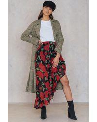 Re:named - Fiorella Skirt Red/black - Lyst