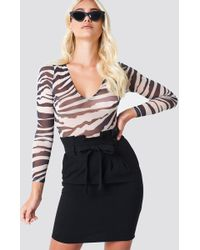 Rut&Circle - Ofelia Paper Waist Skirt - Lyst