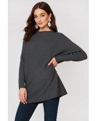 Mango - Fine-knit Oversize Jumper - Lyst