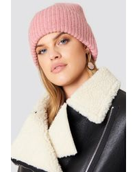 Just Female - Pan Beanie Silver Pink - Lyst