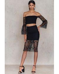 Bardot | Geo Lace Skirt | Lyst