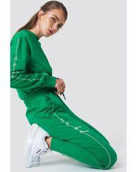 NA-KD - Branded Sweatpants - Lyst