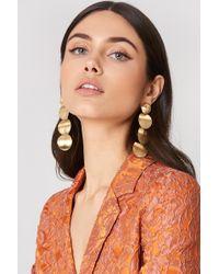 Trendyol - Gold Metal Earring - Lyst