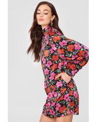 Mango - Floral Print Dress - Lyst