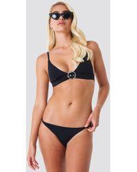 Trendyol - Basic Bikini Bottom Black - Lyst