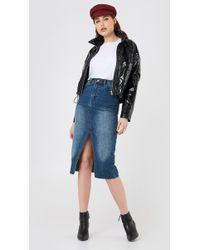 Dr. Denim - Octavia Denim Skirt - Lyst