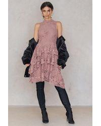 Keepsake - Star Crossed Lace Dress - Lyst