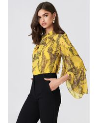 Keepsake - Light Up Ls Top Golden Wildflower Floral - Lyst