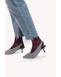 mpDenmark - Ankle Pernille Sock - Lyst