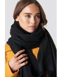 NA-KD - Wool Blend Scarf - Lyst