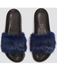 NA-KD - Fluffy Slippers - Lyst
