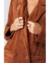 NA-KD - Asymmetric Stacking Rings - Lyst