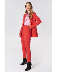 NA-KD - Straight Suit Pants - Lyst