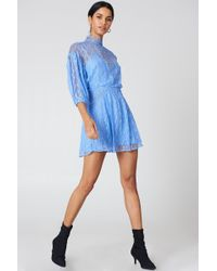 Free People - Bittersweet Mini Dress - Lyst