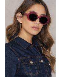 NA-KD - Oval Sunglasses - Lyst