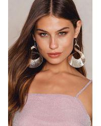 NA-KD - Big Twisted Earrings - Lyst