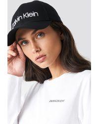 Calvin Klein - Logo Embroidery Cap W - Lyst
