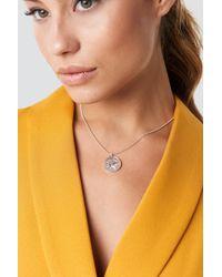 NA-KD - Zodiac Taurus Necklace Silver - Lyst