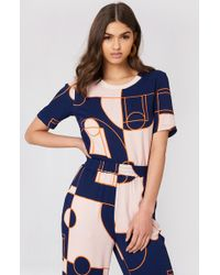 Storm&Marie - Carola Top All Over Print - Lyst