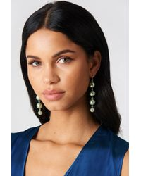 NA-KD - Coloured Pearl Drop Earrings - Lyst