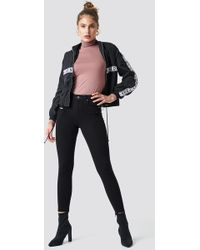 Trendyol - High Waisted Skinny Jeans Black - Lyst