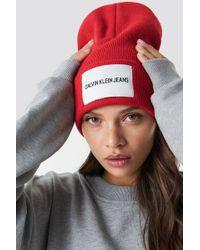 Calvin Klein - J Jeans Beanie W High Risk - Lyst