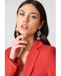 NA-KD | Shell Drop Earrings | Lyst