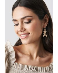 NA-KD - Koi Fish Earrings Gold - Lyst