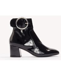 Henry Kole - Sophie Patent Leather Boots - Lyst