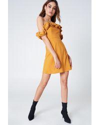 Lioness | Pendevous Frill Dress | Lyst