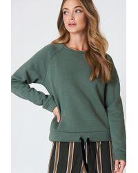 Minimum - Timian Sweatshirt Laurel Wreath - Lyst
